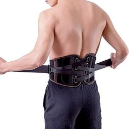 Lower Back Brace Pain Relief with Pulley System - Lumbar Sup