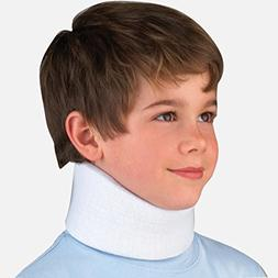 FLA OrthoPedics For Kids Microban Cervical Collar Blue Youth