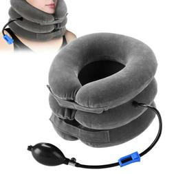 Neck Brace Air Inflatable Pillow Cervical Collar Pain Relief