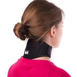 Neck Pain Relief Wrap by Mello - Chronic Neck Stiffness Brac