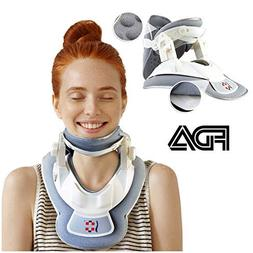 Remedy For Life Neck Traction Device w/Adjustable Cervical C