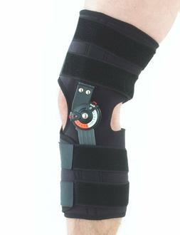 Neo G Hinged Knee Brace, Adjusta Fit - Open Patella - Suppor