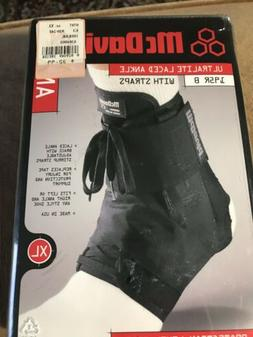 *NEW* McDavid 195 Ultralight Laced Ankle Brace Support W/ St