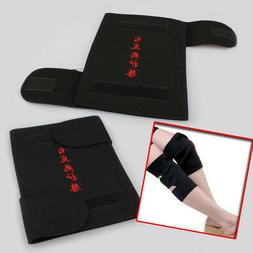 New 2Pcs Spontaneous Magnetic Heating Therapy Knee Brace Sup