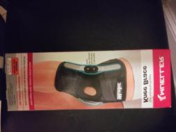 New Mueller 6455 Adjustable Hinged Knee Brace Patella Compre