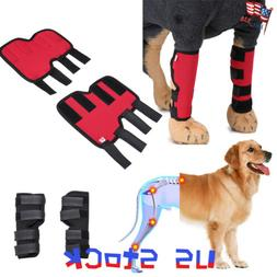 Pet Knee Pads Dog Support Brace for Hind Leg Hock Joint Wrap