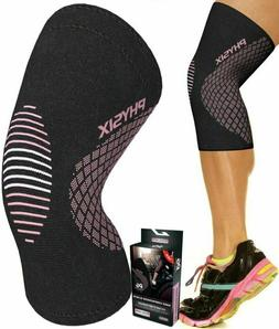 Physix Gear Knee Support Brace - Premium Recovery  Compressi