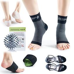 4GEAR Plantar Fasciitis Pain Relief Recovery Kit – 9 Pack-