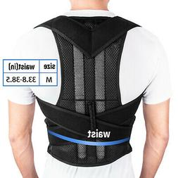 Posture Back Corrector Shoulder Straight Support Brace Belt