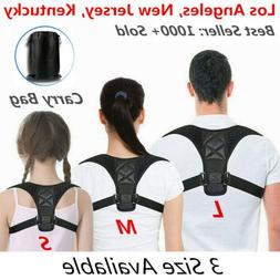 Posture Corrector men Support Back Shoulder Pro Brace Belt A