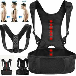 Men Women Adjustable Magnetic Posture Corrector Back Shoulde