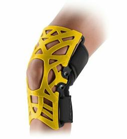 Donjoy REACTION Knee Brace Yellow XL-XXL web support splint