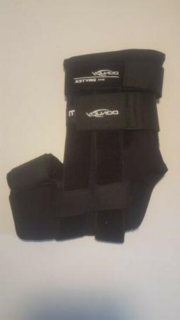 DonJoy RocketSoc Ankle Support Brace right Foot hook loop Bl