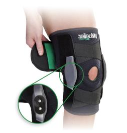 self adjusting hinged knee brace