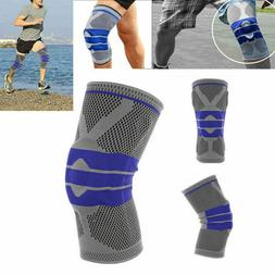 Silicone Spring Sport Knee Support Brace Premium Recovery Co