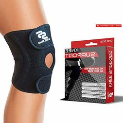 Sleeve Stars Knee Support Brace with Neoprene Compression St