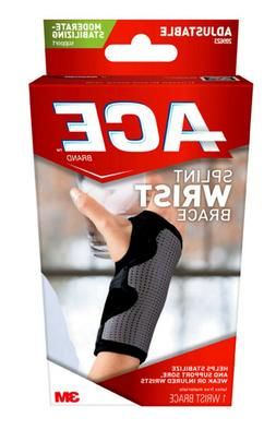 ACE Splint Wrist Brace, Reversible, One Size Adjustable, Ame