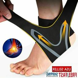 Sport Ankle Support Compression Plantar Fasciitis Sleeve Foo