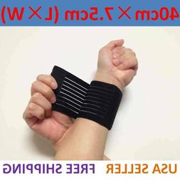 Sports Wrist Band Brace Wrap Adjustable Support Gym Strap Ca