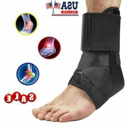 Support Ankle Brace Plantar Fasciitis Lace Up Stabilizer Spr
