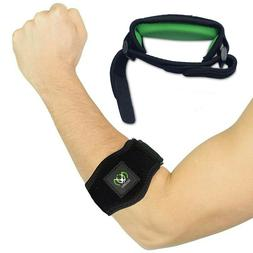 Tennis Elbow Brace with Compression Pad  – Adjustable Coun