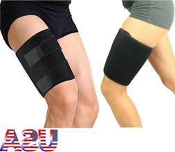 Thigh Support Compression Sleeve Brace Hamstring Wrap Groin