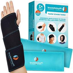 Wrist Ice Pack Wrap - Hot & Cold Therapy for Instant Pain Re