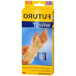 FUTURO Deluxe Wrist Stabilizer Left Hand Large-X-Large Tan 1