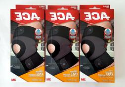 x3 ACE 3M MOISTURE CONTROL FITTED COMPRESSION KNEE BRACE SUP